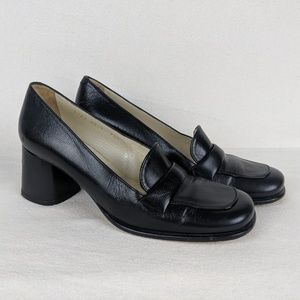 Pura Lopez Women's Career Shoes Size 7.5 M Leather